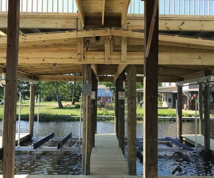 Marine Construction Dock Builders Mississippi